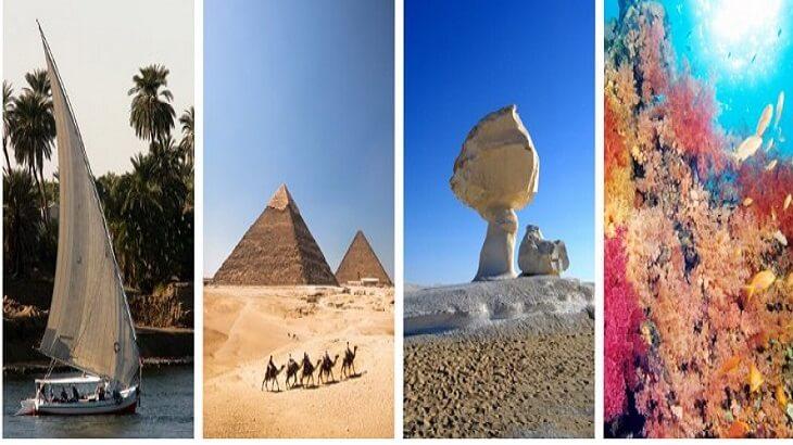 انواع السياحة في مصر