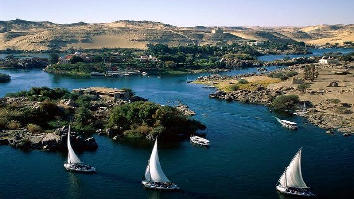 موضوع تعبير عن نهر النيل بالعناصر والافكار
