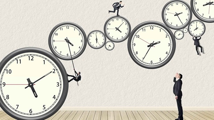 بحث عن الوقت وكيفية إستغلالة