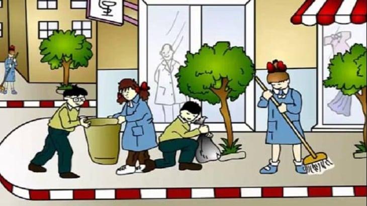 Columbus موضوع عن النظافة الشخصية بالفرنسية