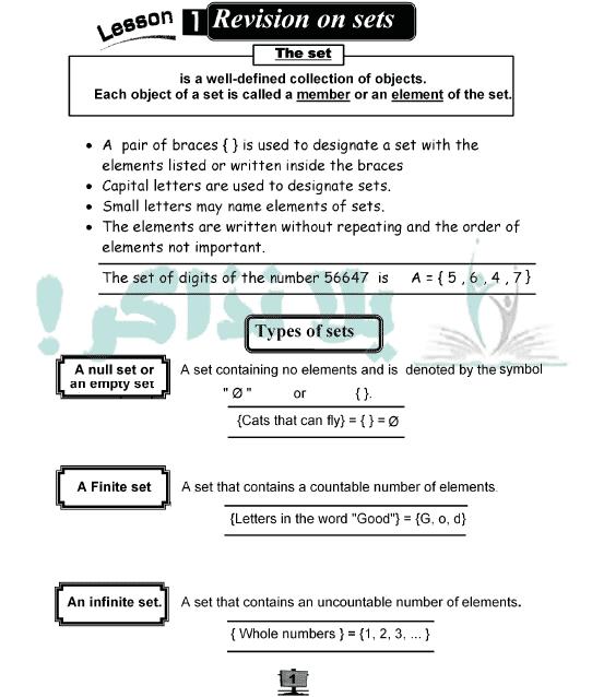 ملزمة Math للصف الخامس الابتدائي ترم ثاني