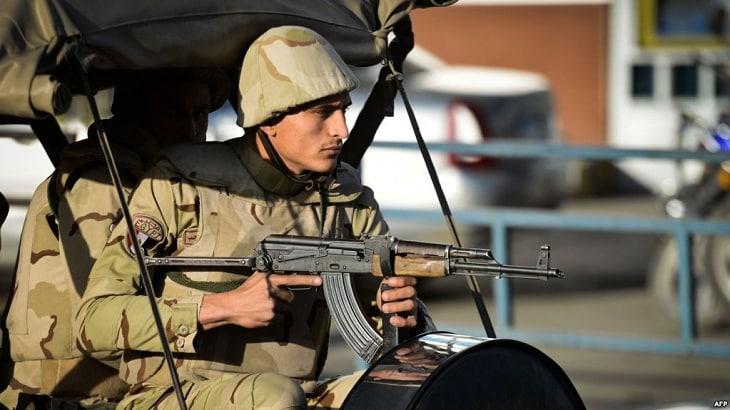 موضوع تعبير عن الجندي المصري بالعناصر