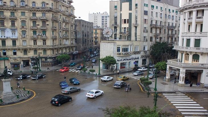 موضوع تعبير عن الشارع المصري بالعناصر