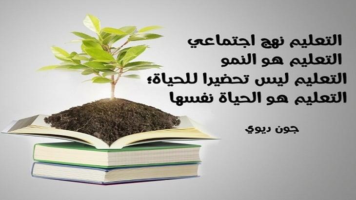 موضوع تعبير عن تطوير التعليم في مصر بالعناصر