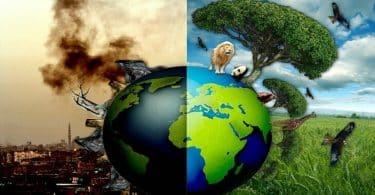 إذاعة مدرسية عن البيئة والسكان