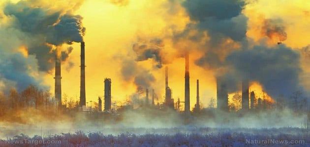 بحث عن التلوث وانواعه