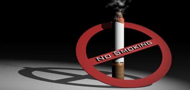 بحث عن اثر التدخين في تلويث البيئة المنزلية