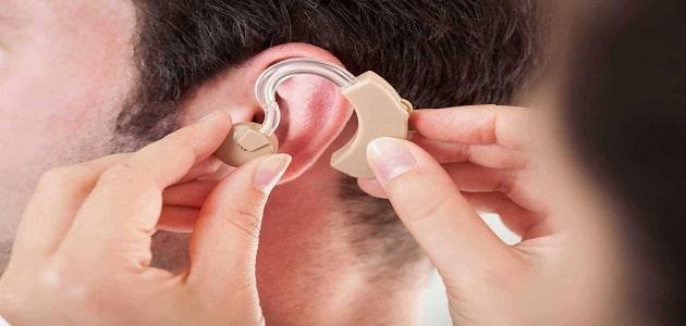 بحث عن الإعاقة السمعية مع المراجع pdf