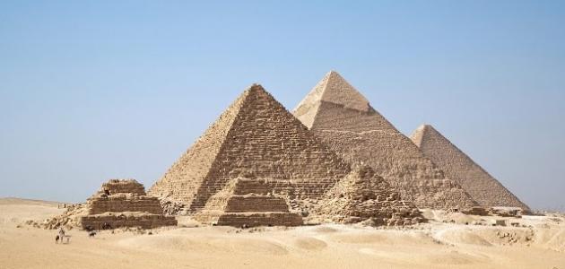 موضوع عن عصر بناة الاهرامات