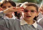 حوار وطني بين طالبتين مكتوب