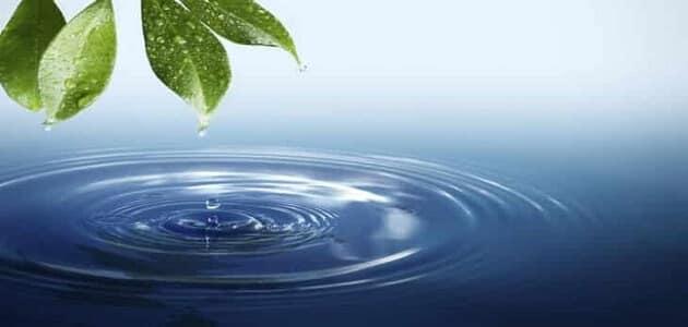 تعبير عن واجبنا نحو الماء