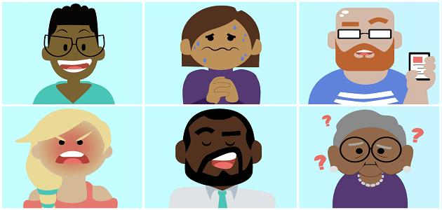 الانفعالات في علم النفس العام