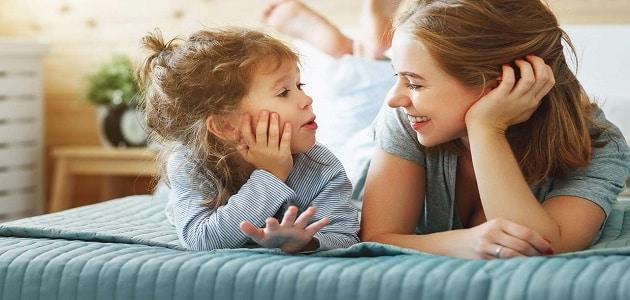 حوار بين الأم وابنتها عن صلة الرحم