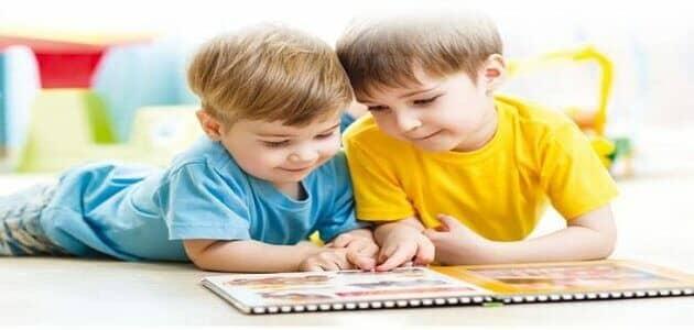 حوار بين شخصين عن التعاون المدرسي