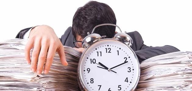 مقدمة وخاتمه عن إدارة الوقت