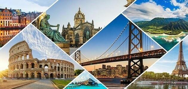 استشهادات لموضوع تعبير عن السياحة