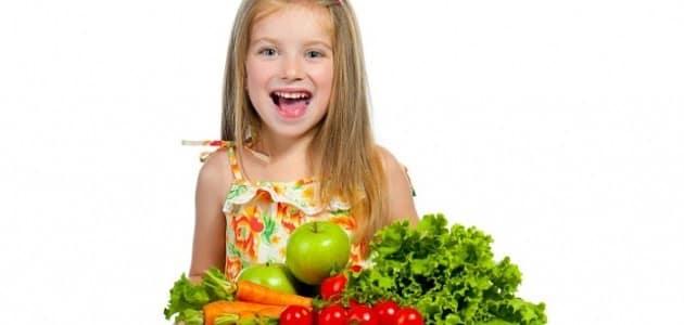 شرح فوائد الخضروات للأطفال